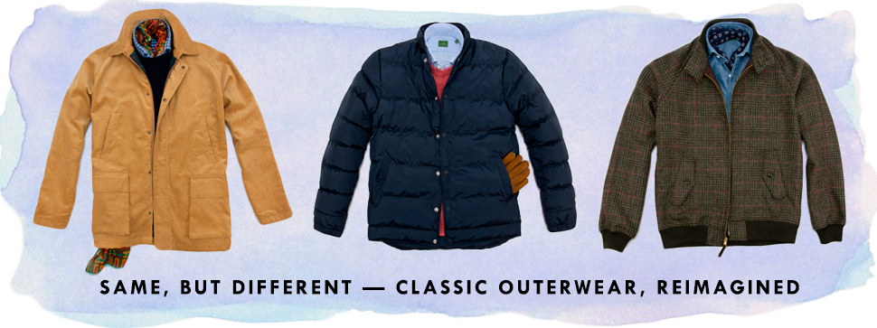 classic outerwear, reimagined