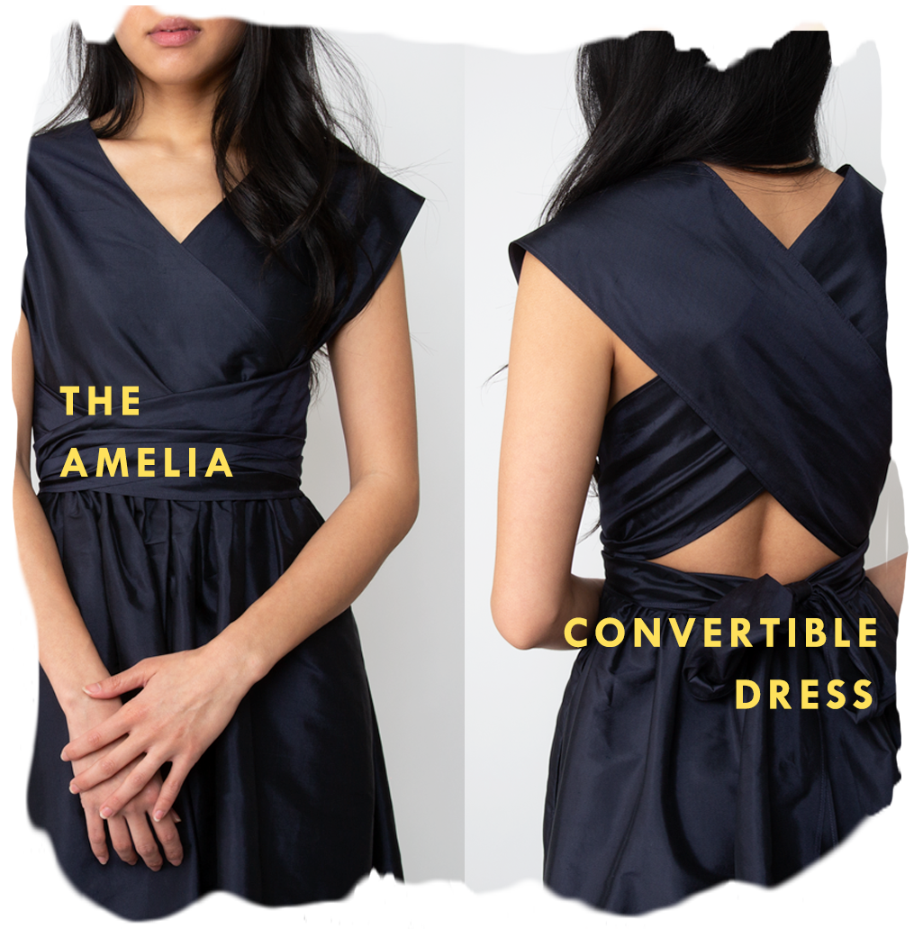 the amelia convertible dress