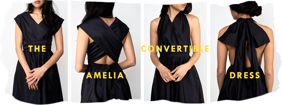 the ameila convertible dress