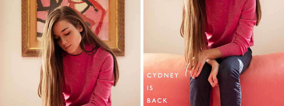 cydney is back