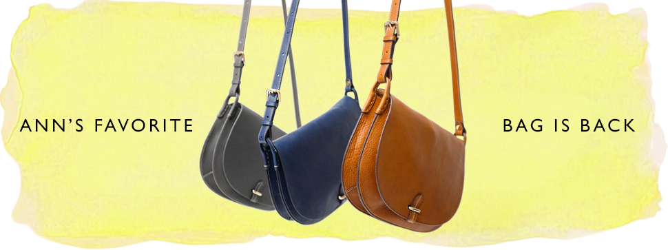 the clara bag, in three new colors
