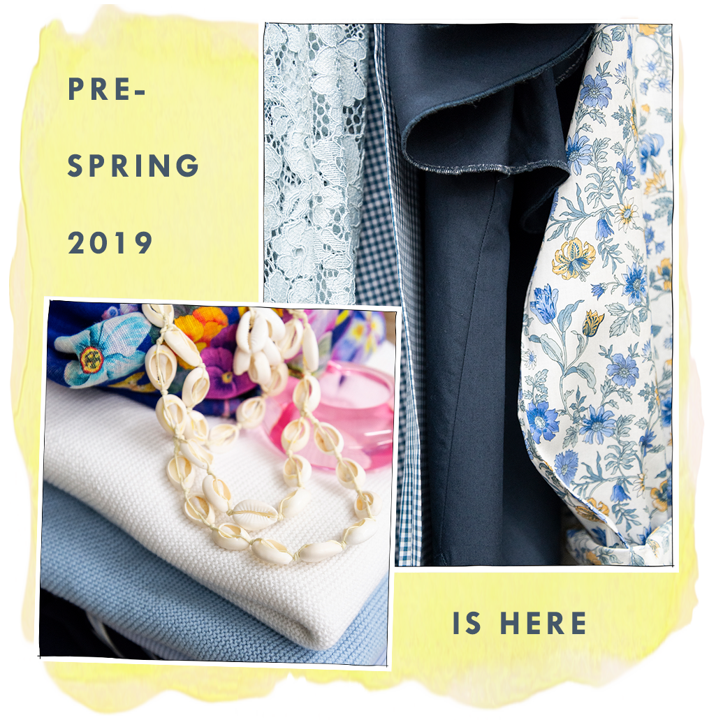 pre-spring 2019 is here