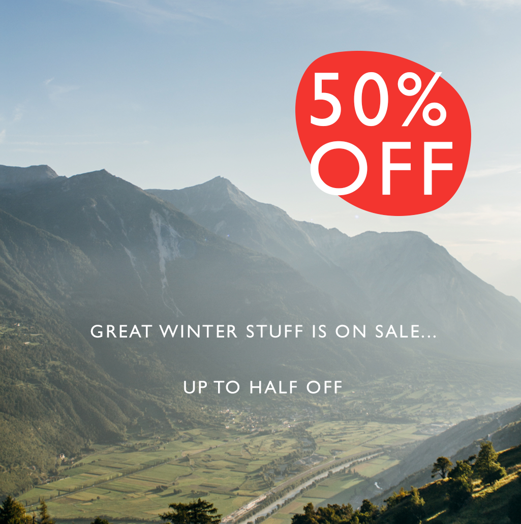 50% off great winter stuff