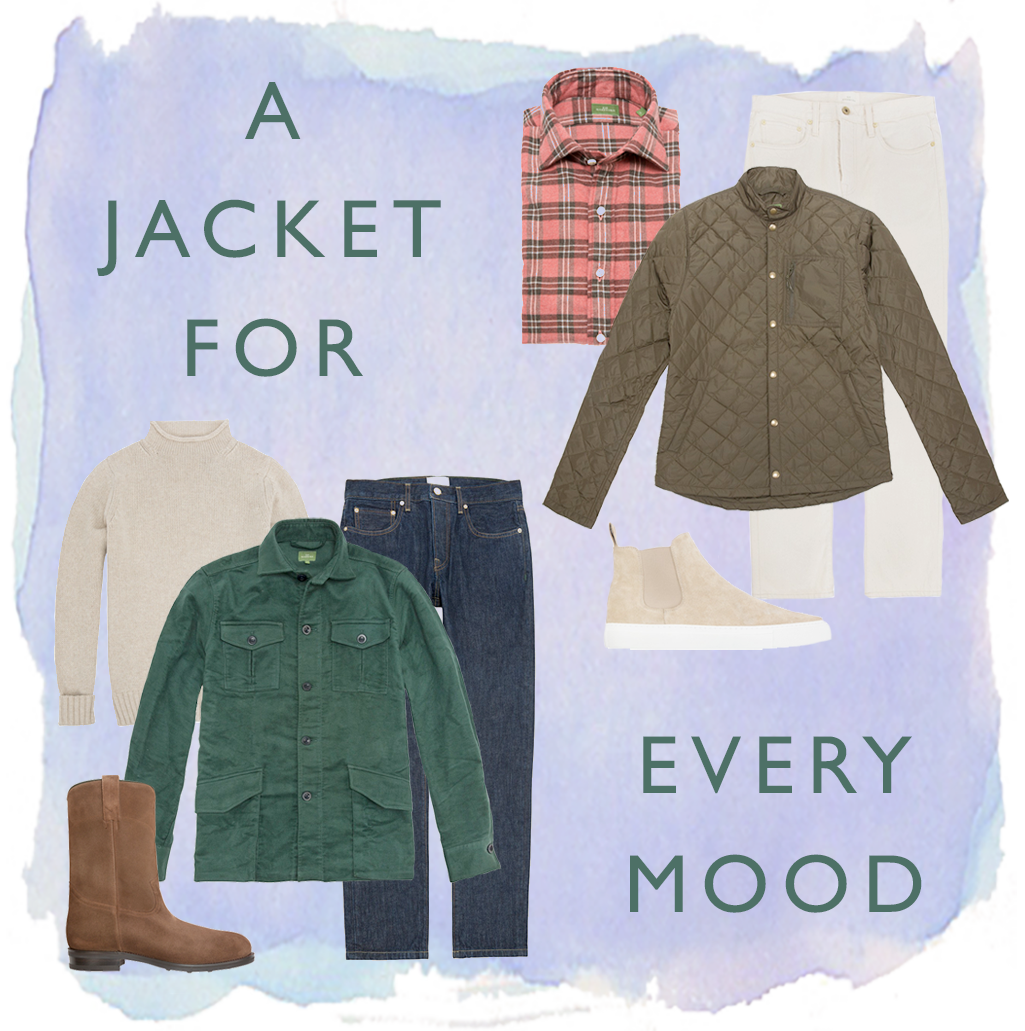 outerwear for every mood